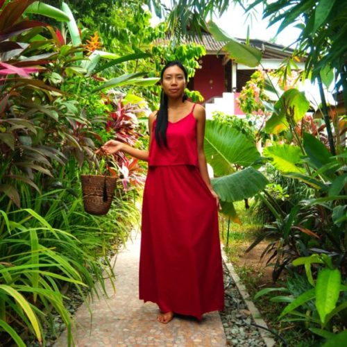 Dress Manis Red