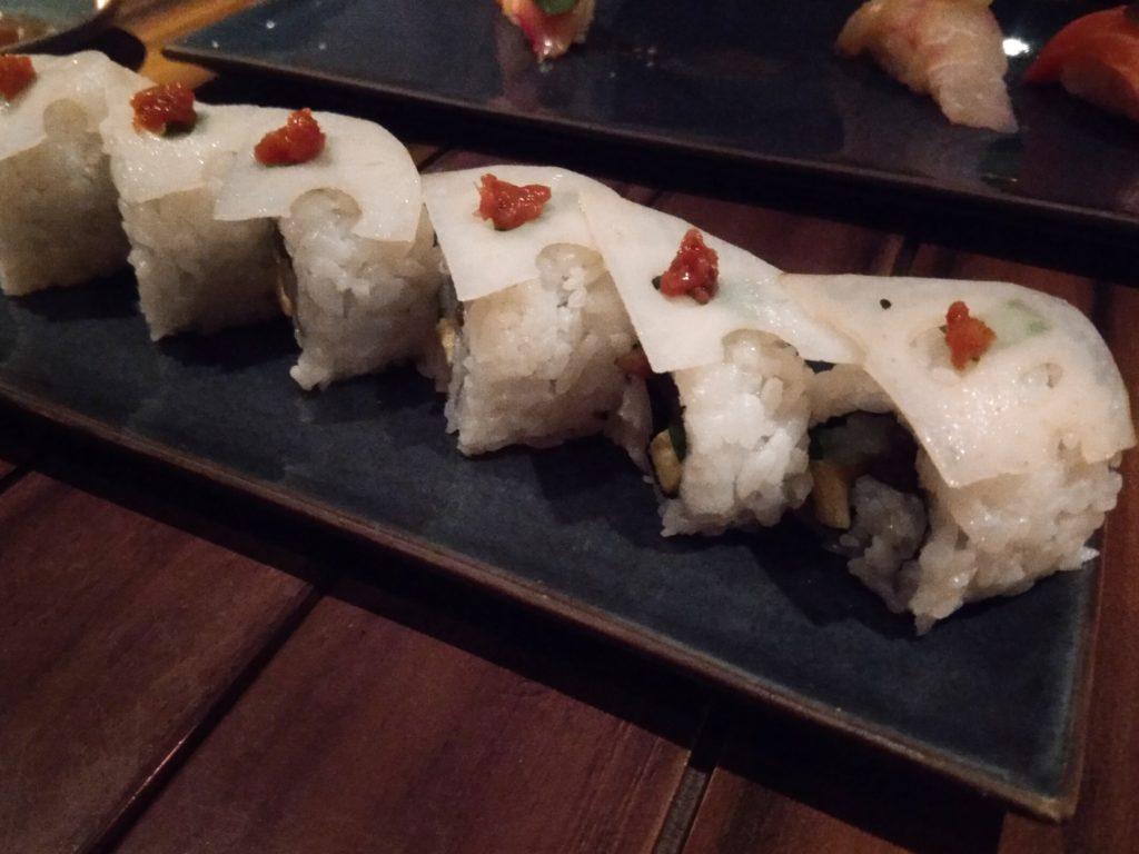 ベジタリアン巻き寿司
