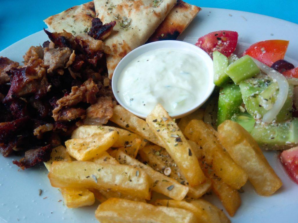ギリシャ料理、肉