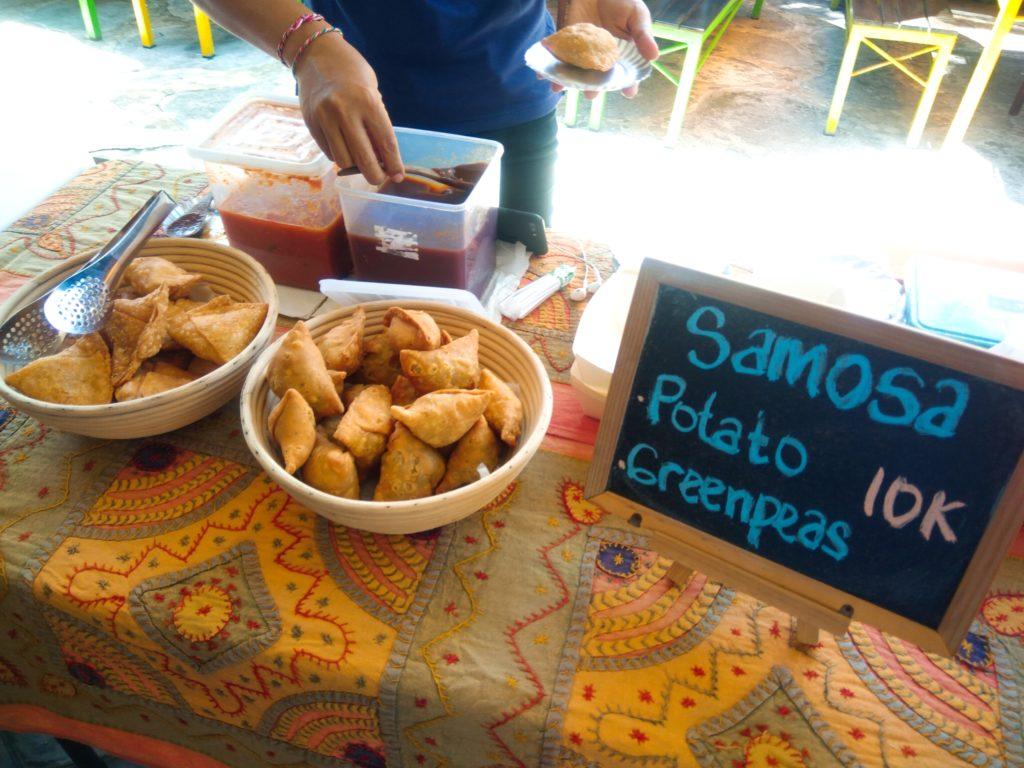 チャングーマーケット、サモサ