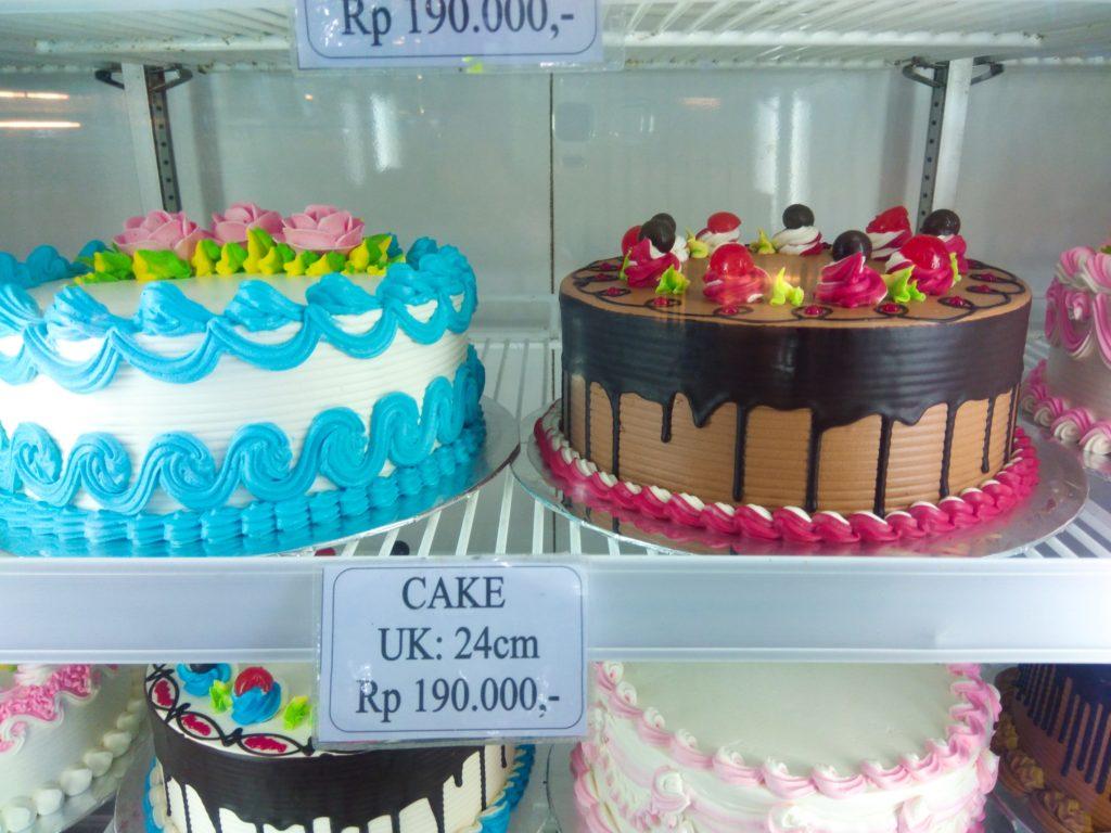 バリ島ローカルスイーツ、ケーキ