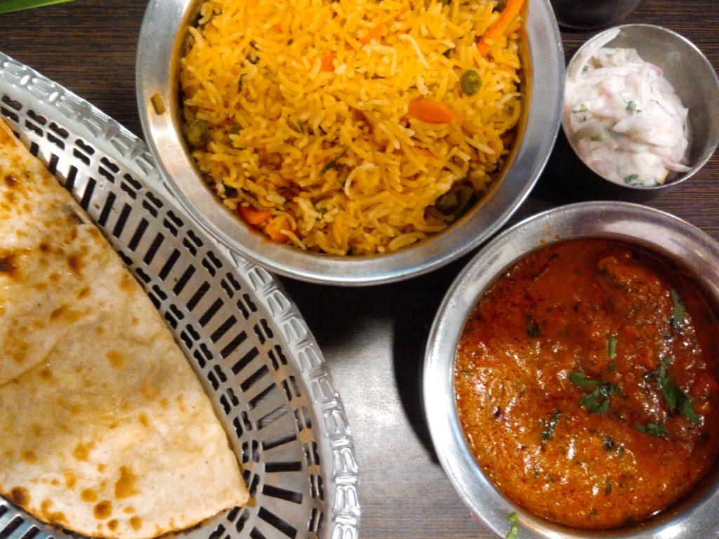 ビザトリップ、インド料理