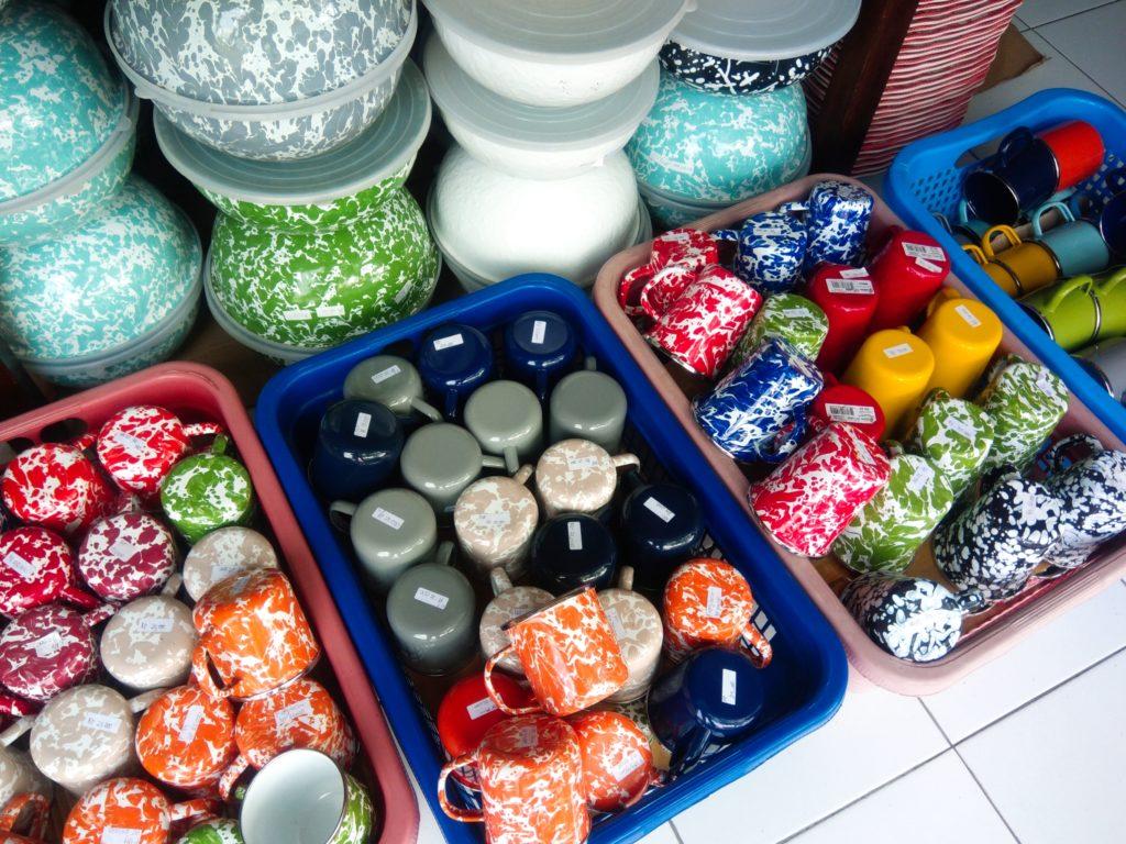 バリ島食器UD.NURIAHホーローカップ