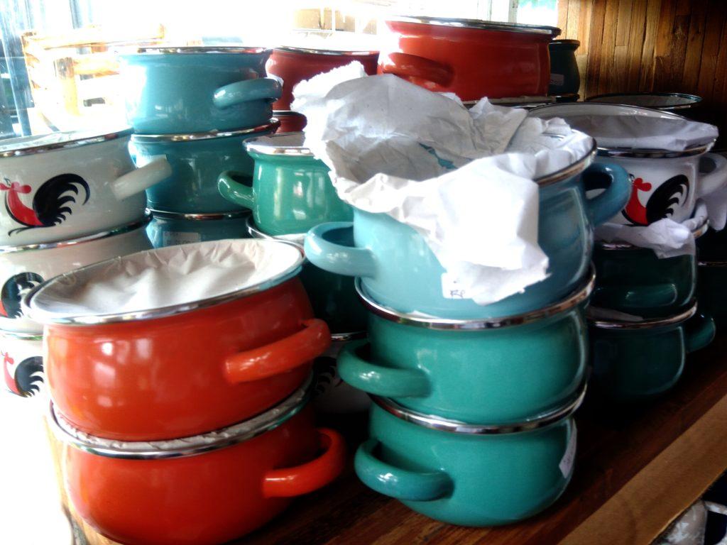 バリ島食器UD.NURIAH蓋つき小鍋
