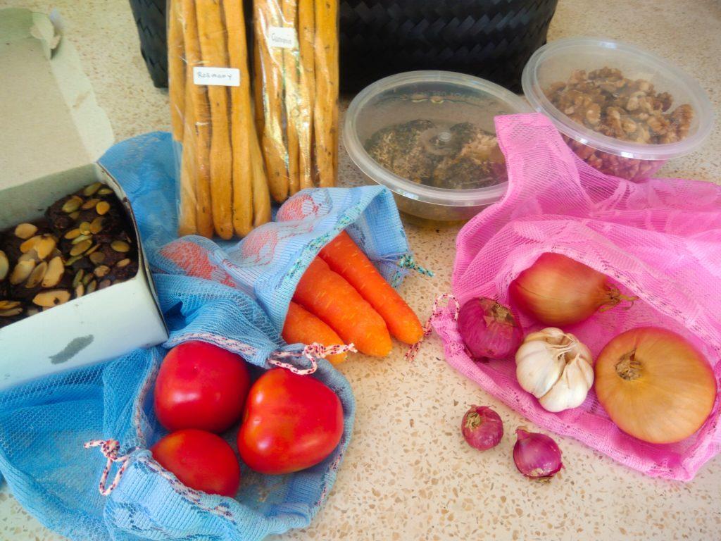バリ島チャングーSamadiオーガニックサンデーマーケット、エコバッグ