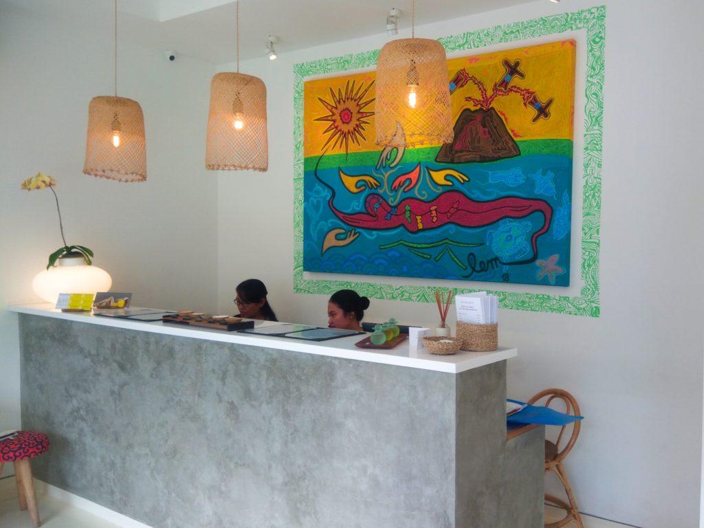 バリ島チャングースパESPACEフロント