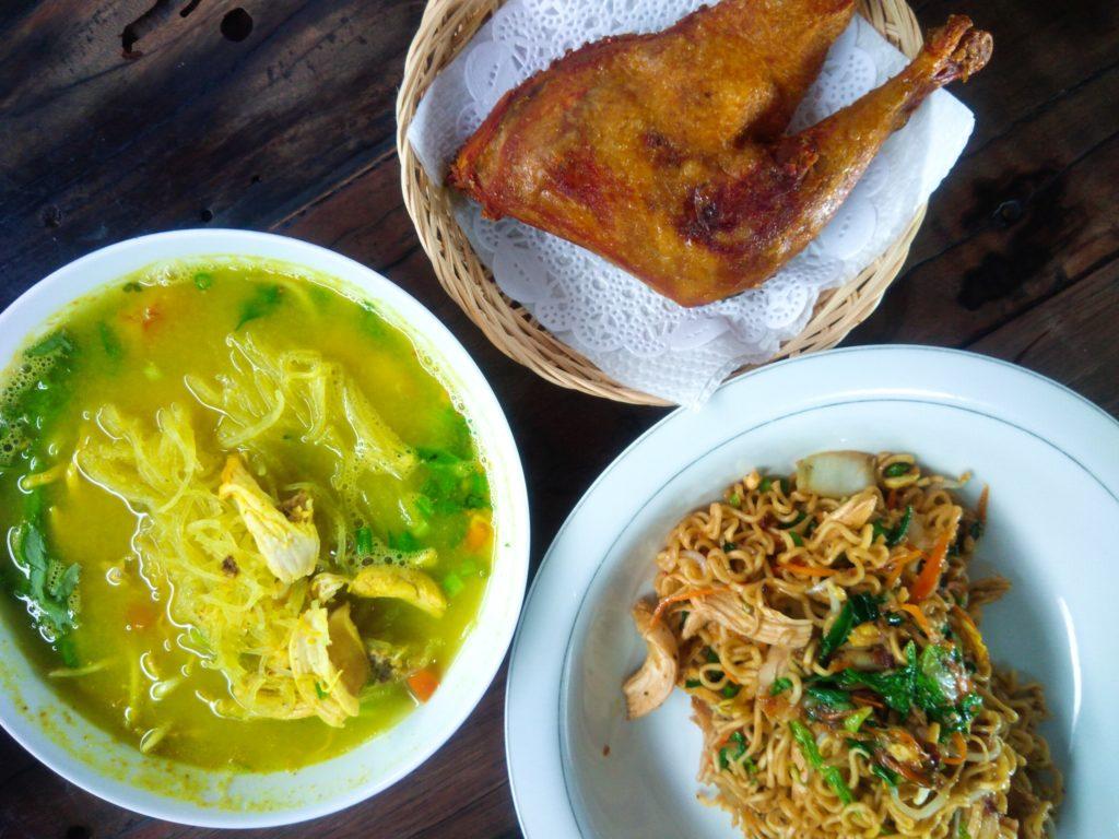 クロボカンの穴場レストラン、サーモンスープの店のインドネシアメニュー