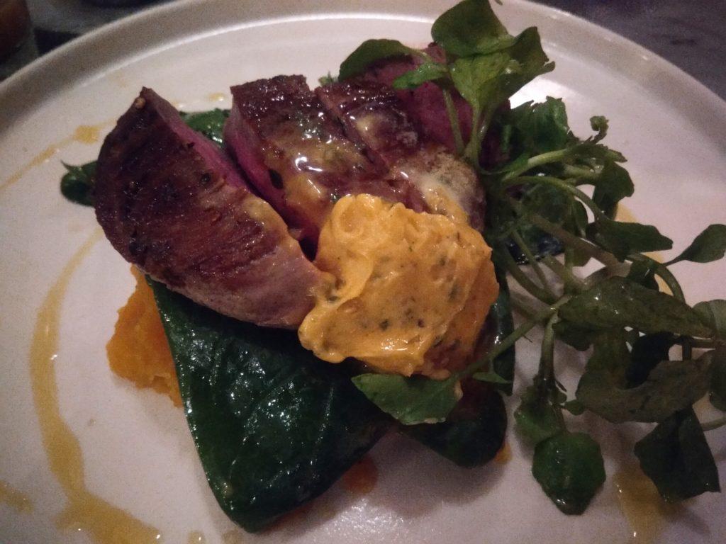 バリ島ウマラスのカフェ&レストランKembaliステーキ