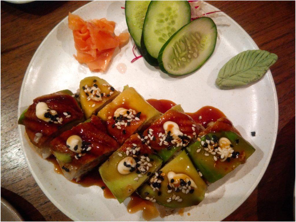 チャングー居酒屋日本食レストランベジタリアン巻寿司