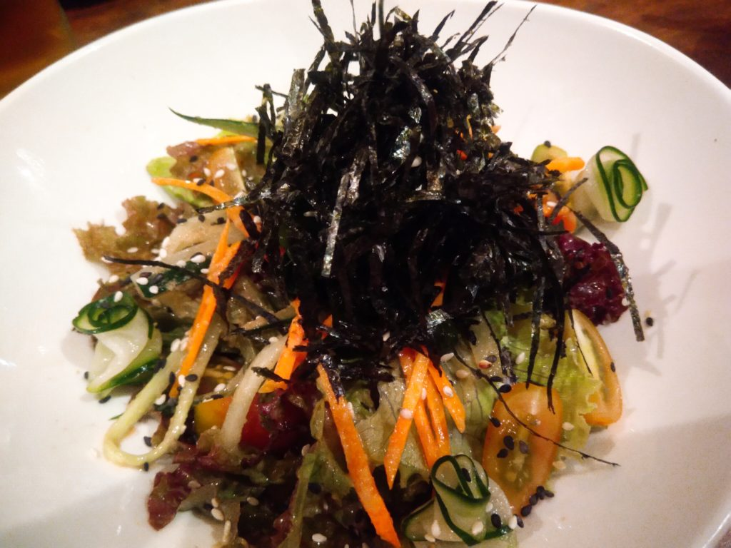 チャングー居酒屋日本食レストラン海藻サラダ