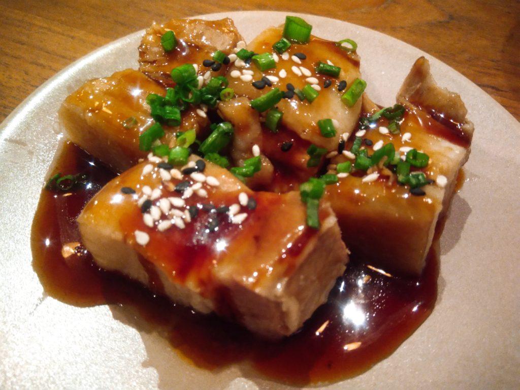チャングー居酒屋日本食角煮