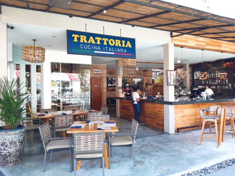 バリ島イタリアンレストラン、トラットリア外観