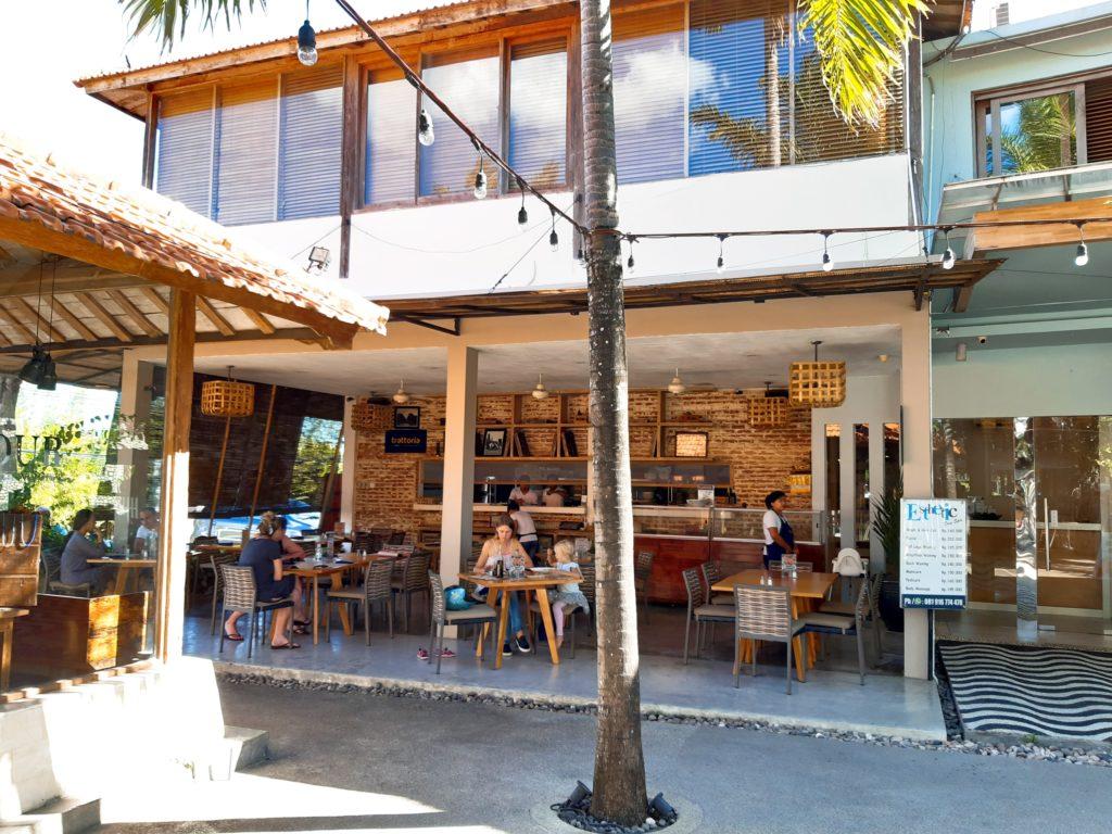 バリ島イタリアンレストラン、トラットリアチャングー