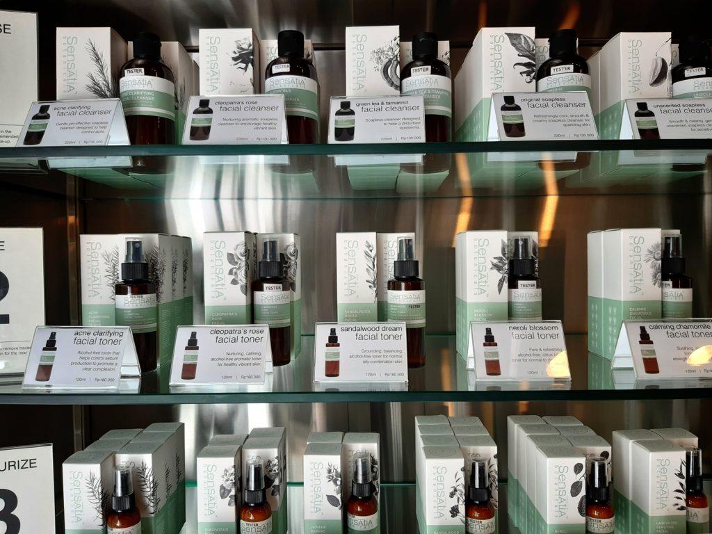 バリ島ナチュラルコスメの王道、センセイシャの基礎化粧品