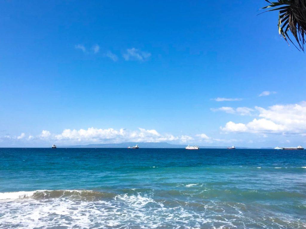 バリ島チャンディダサ周辺の景色