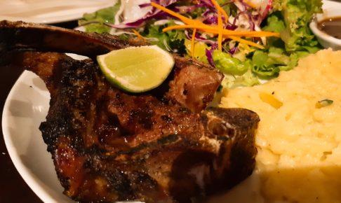 チャングーの安くて美味しいレストラン「la Pan Nam」のラムチョップ
