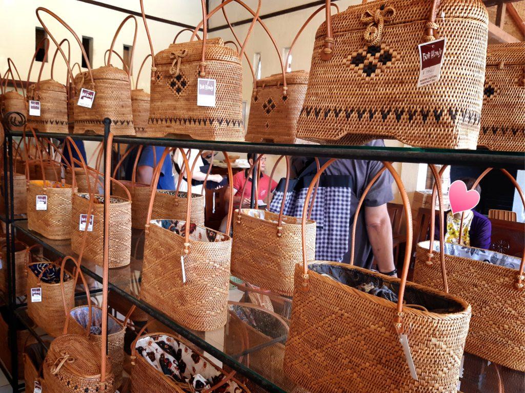 バリ島アタバッグ専門店Bali Handyのデザインバッグ