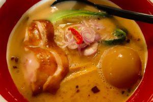 バリ島チャングーのラーメンレストラン、浜虎