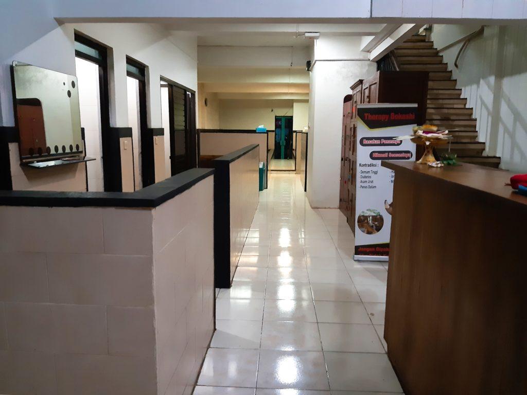 バリ島酵素スパ、ボカシテラピー室