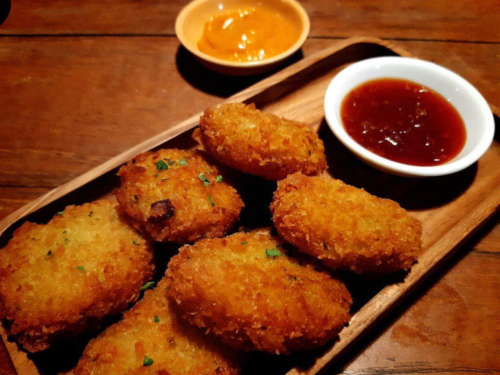 チャングーヴィーガンレストラン「Manggis」わさびコロッケ