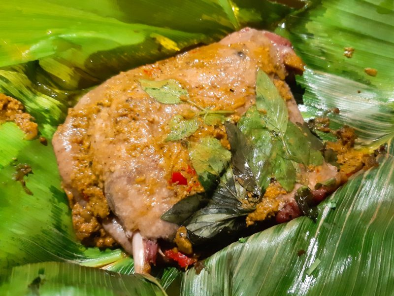インドネシア・バリ料理の調味料ブンブダサールベベッ