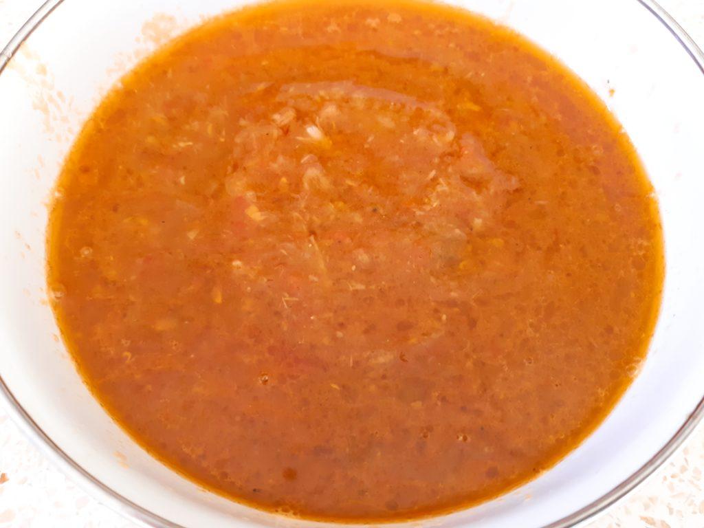 お家でインドネシア料理!サンバルトマト完成