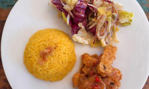 お家でインドネシア料理!テンペサンバルトマト