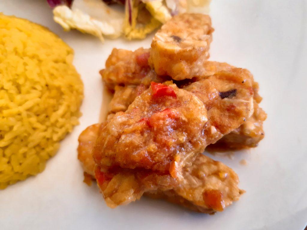 お家でインドネシア料理!テンペサンバルトマトズーム