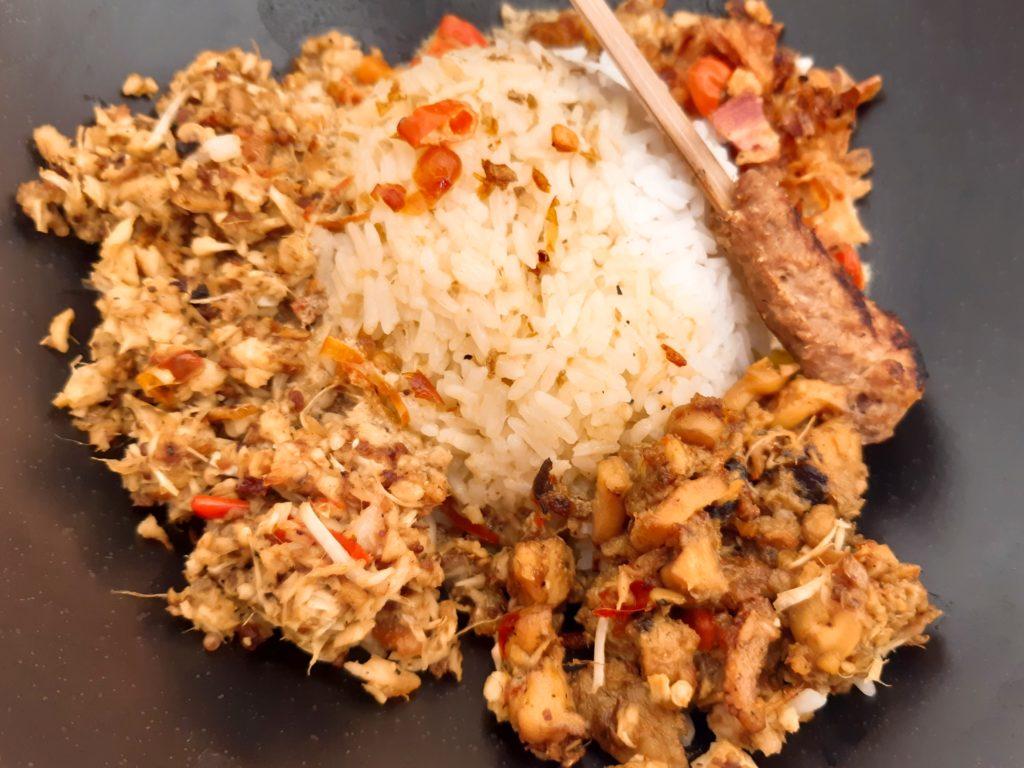 バリ料理イカのラワールスナチュクセット