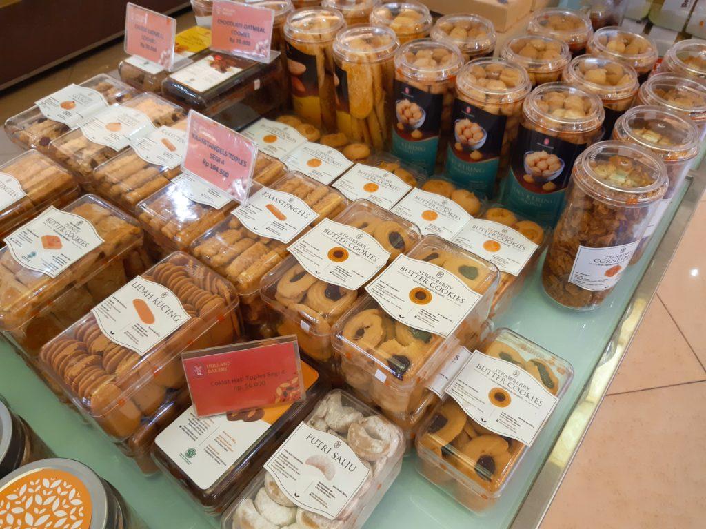 バリ島パン&ケーキ屋ホーランドベーカリークッキー