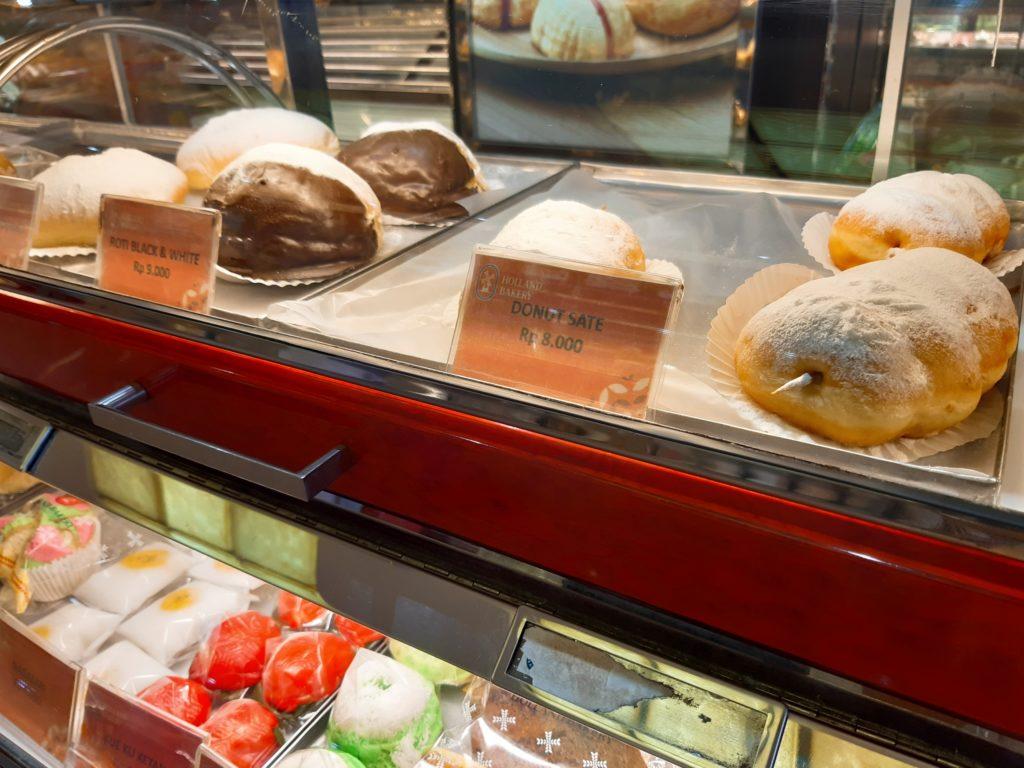バリ島パン&ケーキ屋ホーランドベーカリードーナッツ