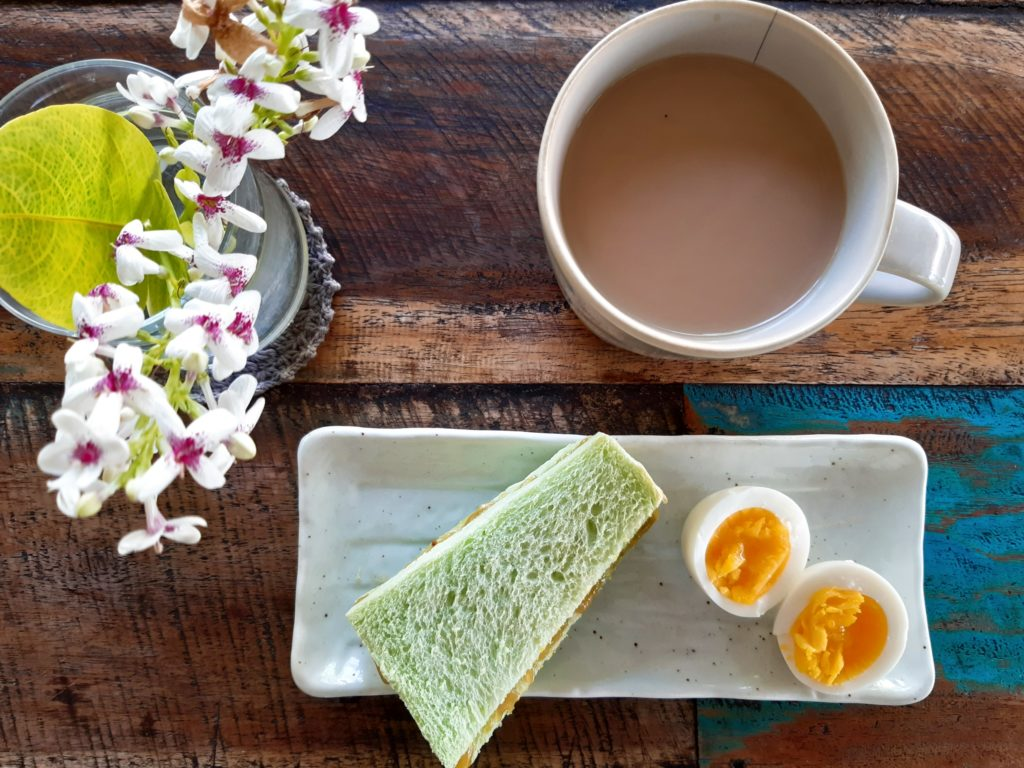 バリ島パン&ケーキショップ「ホーランドベーカリー」のカヤジャムトーズト