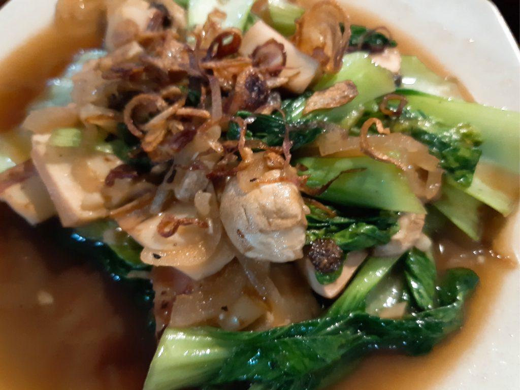 バリ島イカ料理ワルン「Warung Ajik」のイカ野菜炒め