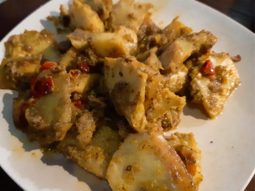 バリ島イカ料理ワルン「Warung Ajik」スノチュコ