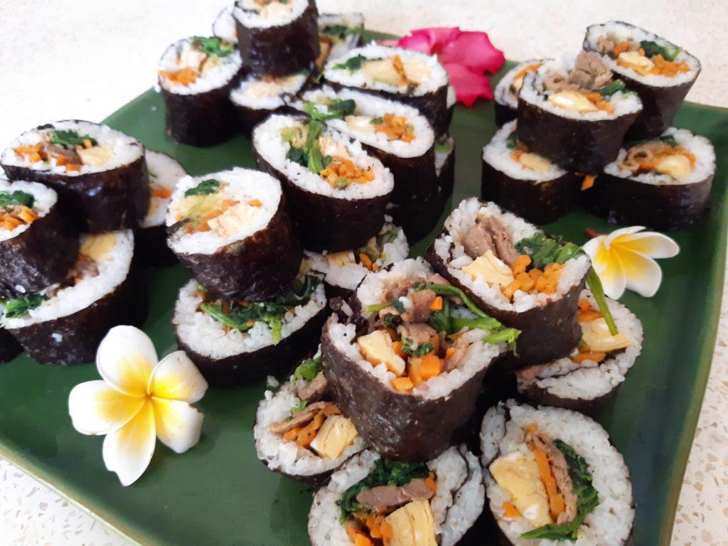 海苔巻、巻き寿司