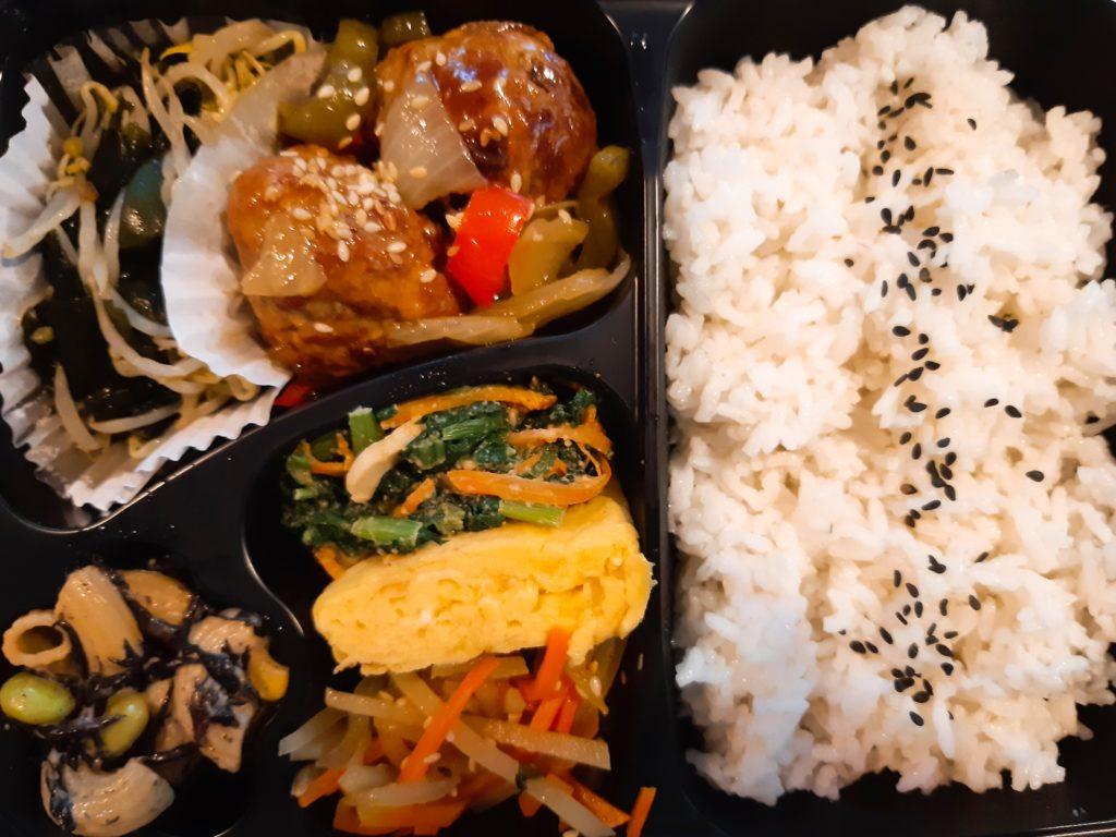日本食の弁当